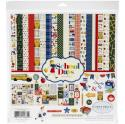 "Picture of Carta Bella School Days - 12"" 12 Double Sided Papers & Sticker Sheet"