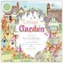 """Picture of Craft Consortium Double Sided Paper Pad 6"""" 40 Sheets - Cottage Garden"""