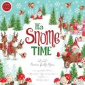 """Picture of Craft Consortium Double Sided Paper Pad 12"""" 40 Sheets - It's Snome Time"""