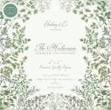 """Picture of Craft Consortium Double Sided Paper Pad 6"""" 40 Sheets - The Herbarium"""