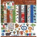"Picture of PhotoPlay A Walk On The Wild Side - 12"" 12 Double Sided Papers & Sticker Sheet"