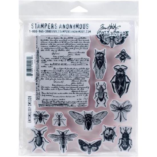 Picture of Tim Holtz - Stampers Anonymous - Entomology Cling Stamp