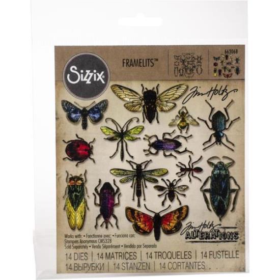 Picture of Tim Holtz - Sizzix - Entomology Die Set