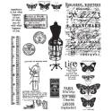 Picture of Tim Holtz - Stampers Anonymous - Attic Treasures Cling Stamp