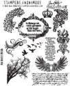 Picture of Tim Holtz - Stampers Anonymous - Mini Ornates Cling Stamp