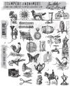 Picture of Tim Holtz - Stampers Anonymous - Tiny Things 2 Cling Stamp